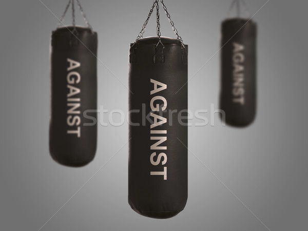 boxing bags Stock photo © designsstock