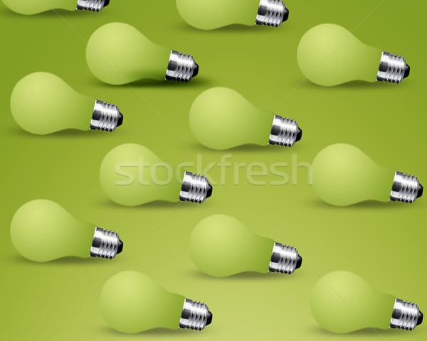 Turn off Light bulbs Stock photo © designsstock