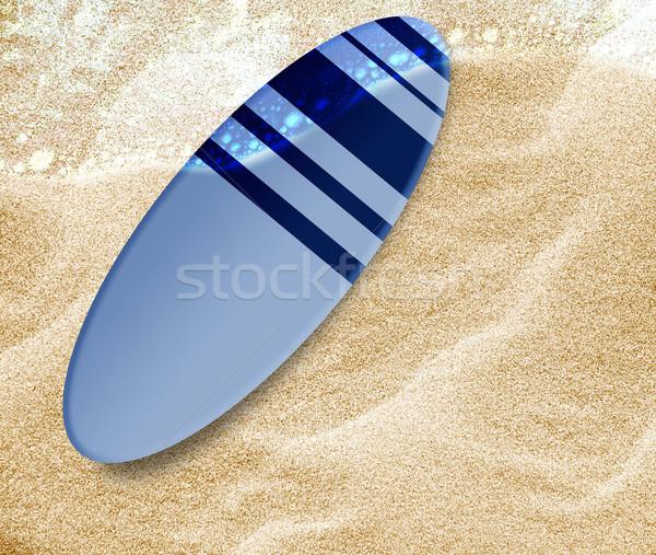 surf boards Stock photo © designsstock