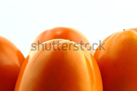 Trabzon hurması meyve gıda doğa arka plan Stok fotoğraf © designsstock
