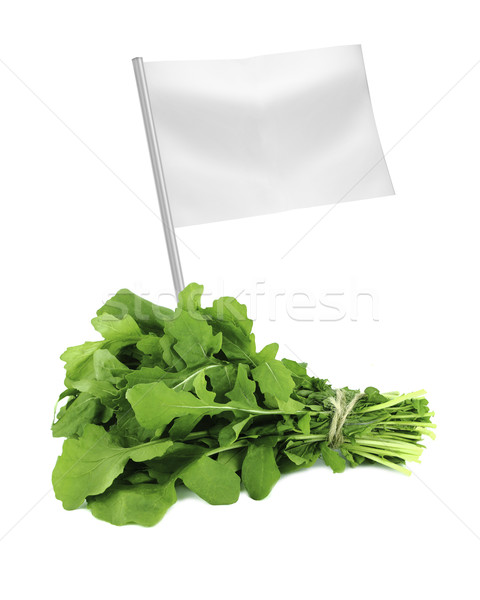 Saludable alimentos orgánicos frescos verde cohete hojas Foto stock © designsstock