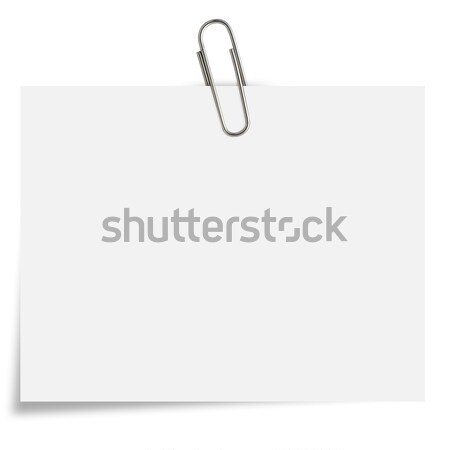Notepaper  Stock photo © designsstock