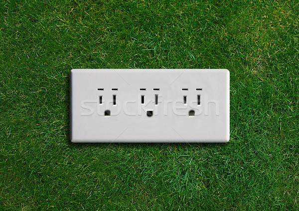 Green energy concept Stock photo © designsstock