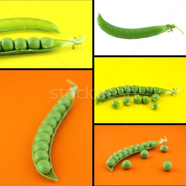 Gesunden Bio-Lebensmittel Set frischen Natur Design Stock foto © designsstock