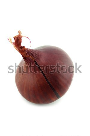 Ripe red onions Stock photo © designsstock