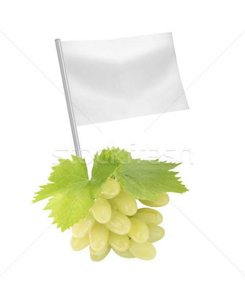 Saludable alimentos orgánicos frescos verde maduro uvas Foto stock © designsstock