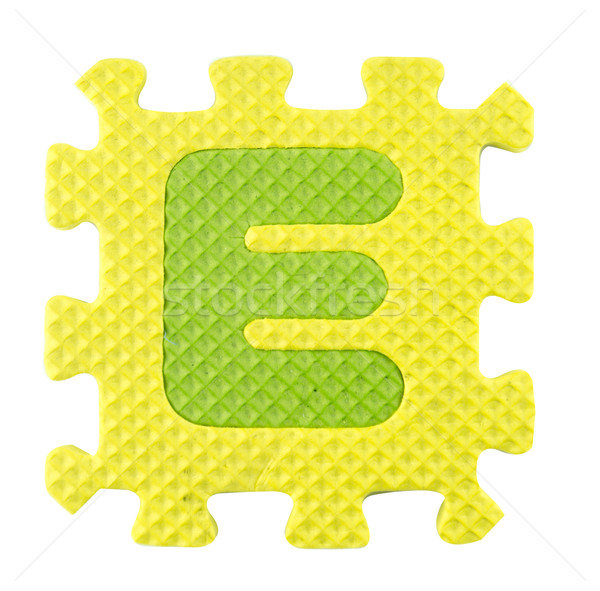 Alphabet puzzle  Stock photo © designsstock