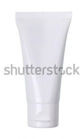 Stockfoto: Buis · room · gel · witte · plastic · product