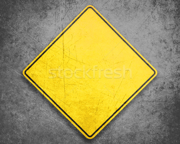 Yellow Sign Stock photo © designsstock