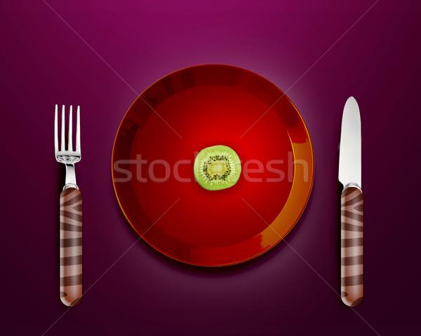 very hard diet Stock photo © designsstock