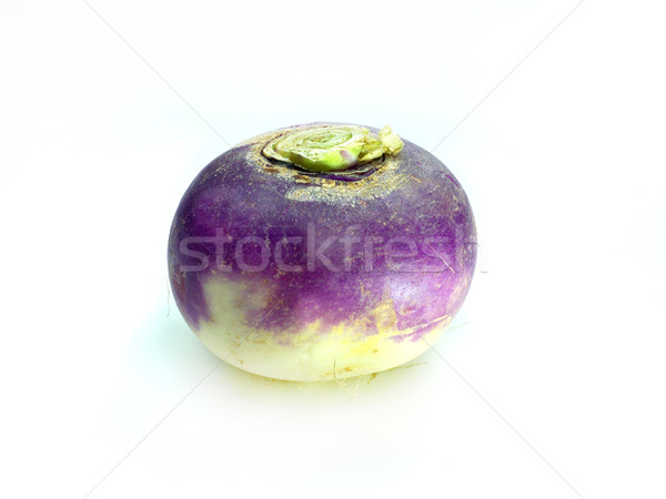 purple headed turnips on white background  Stock photo © designsstock