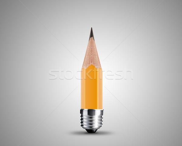 żółty farbują obraz odizolowany biały działalności Zdjęcia stock © designsstock