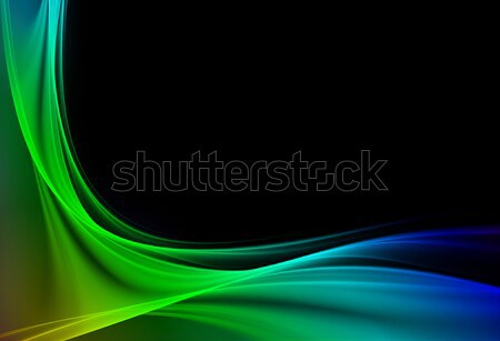элегантный дизайна Creative свет искусства волна Сток-фото © Designus