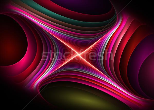 Creatieve element abstract kleur achtergronden idee Stockfoto © Designus