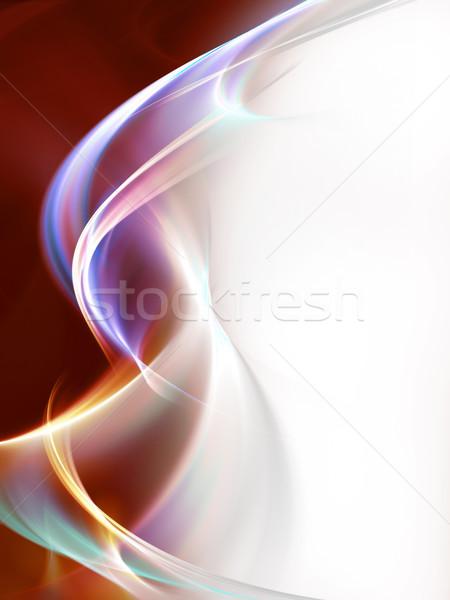 Creative элегантный дизайна аннотация волна цвета Сток-фото © Designus