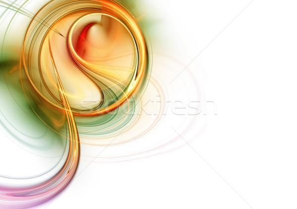красочный магия искусства элемент аннотация обои Сток-фото © Designus