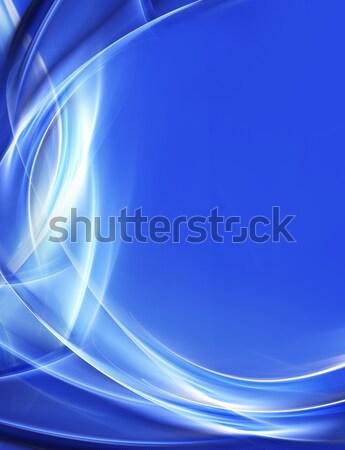 Creatieve elegante ontwerp abstract golf kleur Stockfoto © Designus