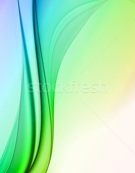Creatieve elegante ontwerp golf kleur achtergronden Stockfoto © Designus