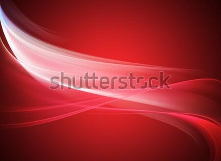 エレガントな デザイン 抽象的な 美 色 波 ストックフォト © Designus