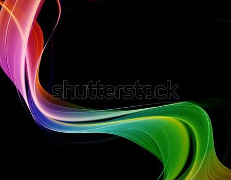 Creative элегантный дизайна волна цвета фоны Сток-фото © Designus