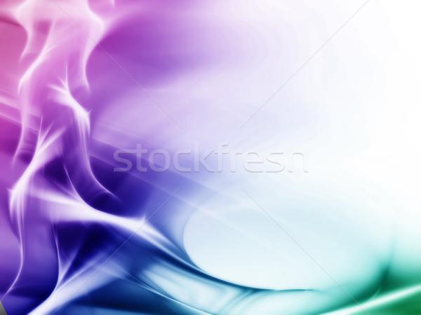 Kleurrijk magie kunst element abstract golven Stockfoto © Designus