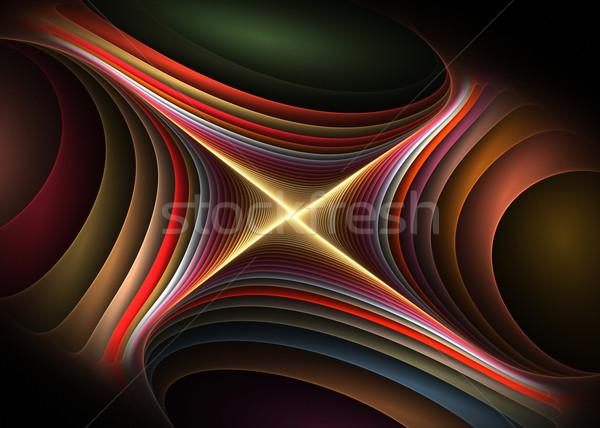 Criador elemento cor fundos idéia conceito Foto stock © Designus