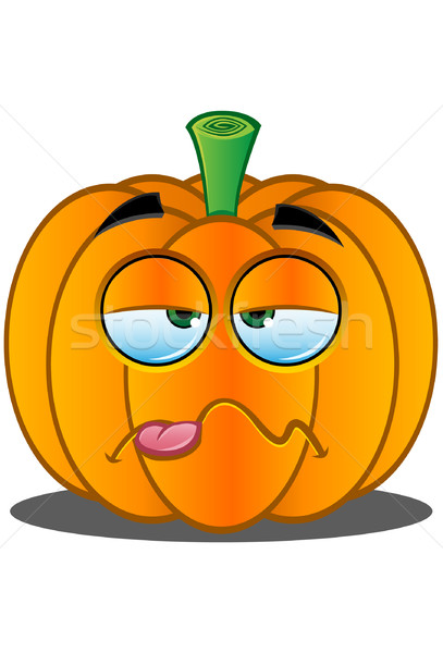 Jack o Lantern Pumpkin Face - 14 Stock photo © DesignWolf