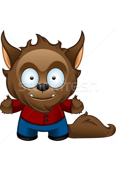 Werewolf Monster - Happy Stock photo © DesignWolf