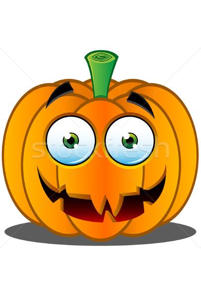 Jack o Lantern Pumpkin Face - 16 Stock photo © DesignWolf