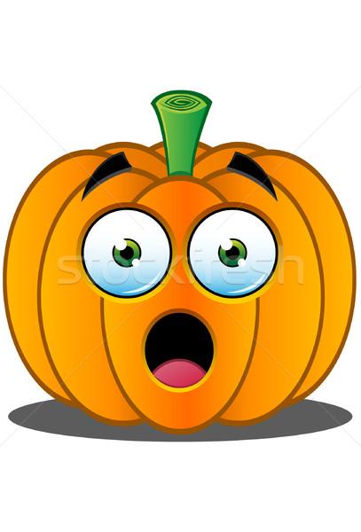 Jack o Lantern Pumpkin Face - 1 Stock photo © DesignWolf