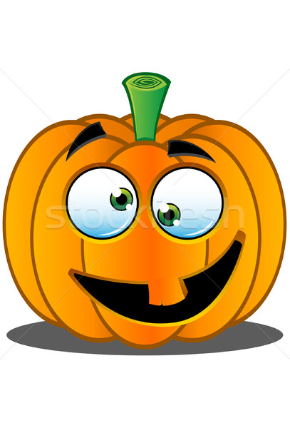 Lanterne citrouille visage sourire orange bonbons Photo stock © DesignWolf