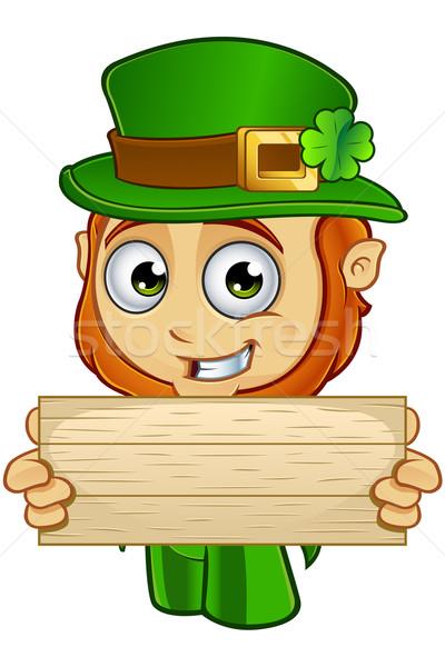 Little Leprechaun Character Stock photo © DesignWolf