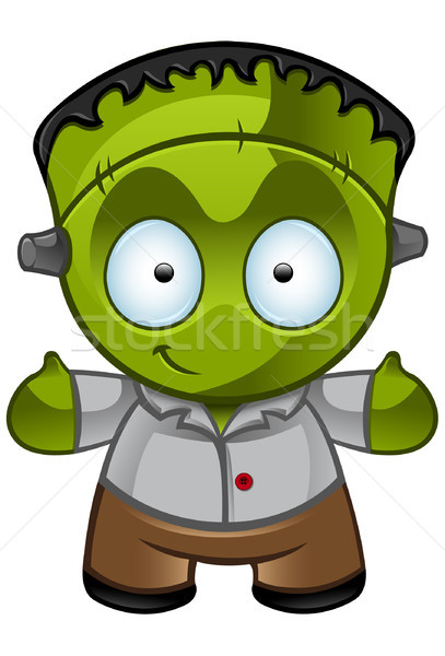Frankenstein's Monster - Smile Stock photo © DesignWolf