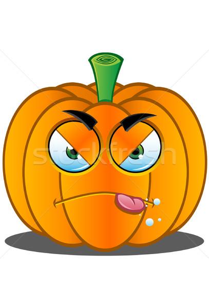 Jack o Lantern Pumpkin Face - 6 Stock photo © DesignWolf