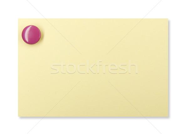 黄色 注記 紫色 ビジネス オフィス ストックフォト © devulderj