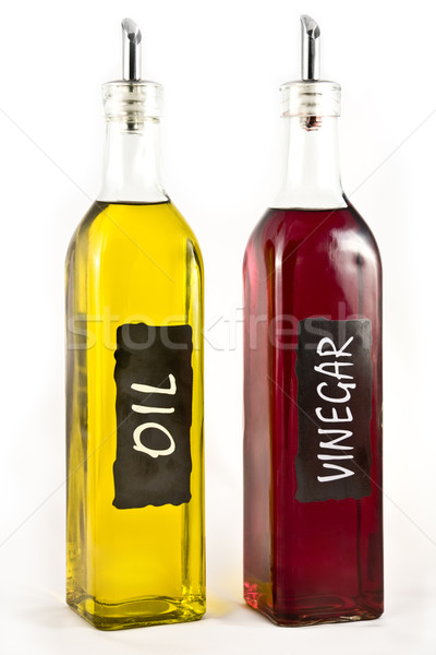 Olive Oil and Vinigar Stock photo © devulderj