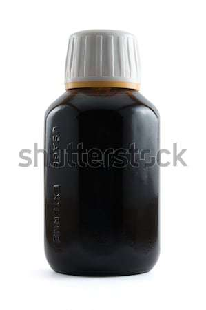 Bottle of medication Stock photo © devulderj
