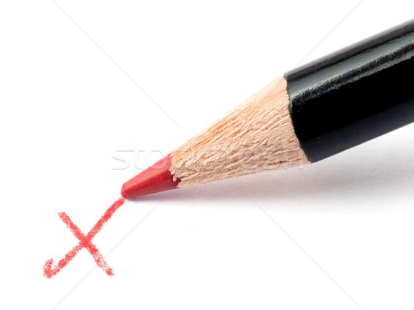 Pencil Checkmark Stock photo © devulderj