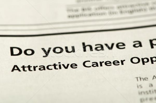 Word Attractive Career Stock photo © deyangeorgiev