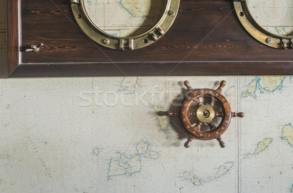 Boat details Stock photo © deyangeorgiev