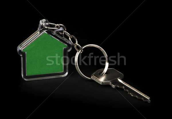 Keychain and key Stock photo © deyangeorgiev