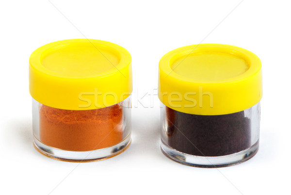 Artificial food coloring pigment or substances in pack Stock photo © deyangeorgiev