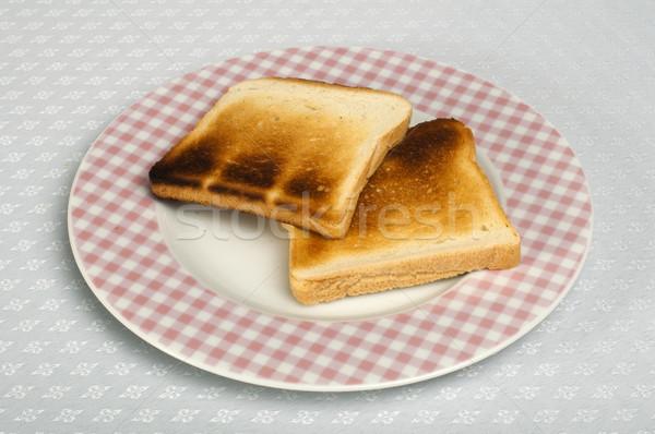 Toasted bread Stock photo © deyangeorgiev