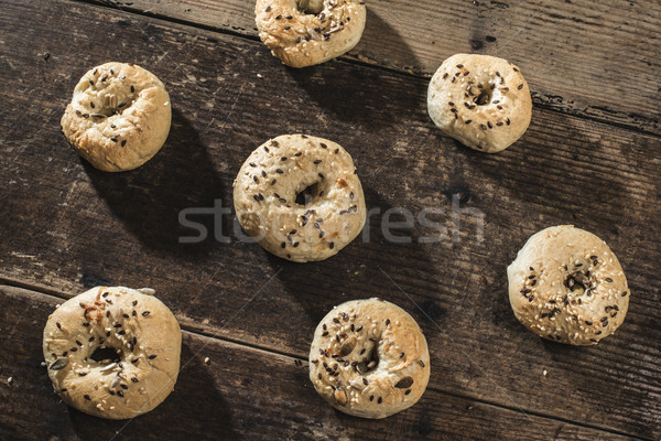 Bagels Stock photo © deyangeorgiev