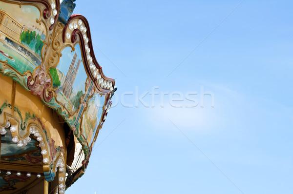 Amusement park details Stock photo © deyangeorgiev