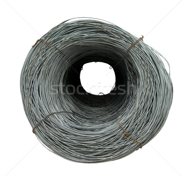 Foto stock: Aço · barras · construção · metal · industrial · concreto