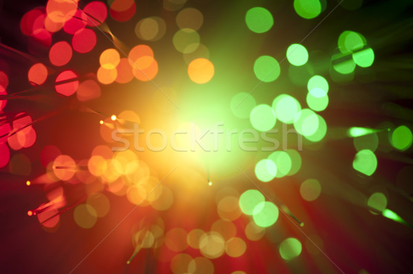 Abstract luci ottico design sfondo Foto d'archivio © deyangeorgiev