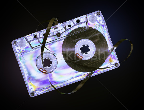Vintage cassette tape Stock photo © deyangeorgiev
