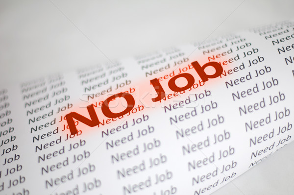 No Job conception Stock photo © deyangeorgiev