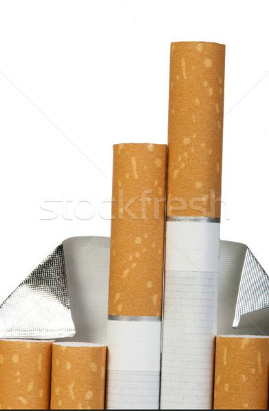 Pack of cigarettes Stock photo © deyangeorgiev